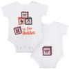 Virginia Tech Building Blocks Baby Bodysuit