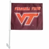 Virginia Tech Car Flag