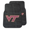 Virginia Tech Car Floor Mats Set