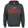 Virginia Tech Charcoal Zone Hoodie