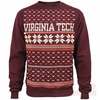 Virginia Tech Christmas Sweater Fleece