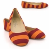 Virginia Tech Ballet Flats by Lilly U