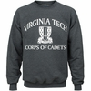 Virginia Tech Corps of Cadets Crew Sweatshirt