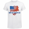 Virginia Tech Corps of Cadets Dad Flag Shirt