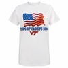 Virginia Tech Corps of Cadets Mom Flag Shirt