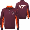 Virginia Tech Crest 1/4 Zip Fleece