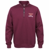 Virginia Tech Crosswind Maroon Quarter Zip