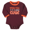 Virginia Tech Cutie Baby Girls Bodysuit