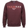 Virginia Tech Dad Crew Sweatshirt