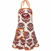 Virginia Tech Damask Apron