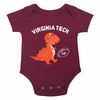 Virginia Tech Dinosaur Infant One-Piece