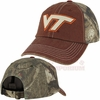 Virginia Tech Dirty Camo Adjustable Cap