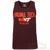 Virginia Tech Distressed Tank Top by Champion