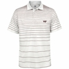 Virginia Tech Drytec Gatehouse Stripe Polo by Cutter & Buck