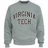 Virginia Tech Embroidered Twill Crew Sweatshirt