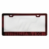 Virginia Tech Etched License Plate Frame