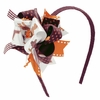 "Virginia Tech ""Fan""tasy Flower Ribbon Headband"