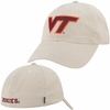 Virginia Tech Fitted Hat in Stone