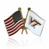 Virginia Tech Flag Pin