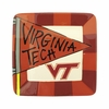 Virginia Tech Flag Square Plate