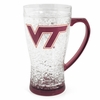 Virginia Tech Flared Crystal Freezer Mug