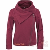 Virginia Tech Fleece Moto Jacket