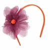 Orange Virginia Tech Flower Headband