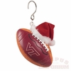Virginia Tech Football Christmas Ornament