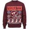 Virginia Tech Football Christmas Sweater Fleece