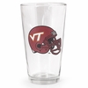 Virginia Tech Football Helmet Ale Glass