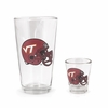 Virginia Tech Football Helmet Boilermaker Set