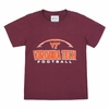 Virginia Tech Football Youth Tee
