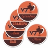 Virginia Tech Fridge Magnet: Family