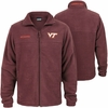 Virginia Tech Full-Zip Maroon Flanker Fleece II Jacket