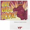Virginia Tech Get Well Soon Card