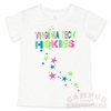Virginia Tech Girls Neon Star Tee