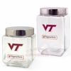 Virginia Tech Glass Canister