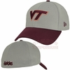 Virginia Tech Grey 2TONE 39Thirty Stretch Fit Cap by New Era