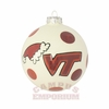Virginia Tech Hand Painted Ceramic Ornament