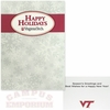 Virginia Tech Happy Holidays Card 10pk