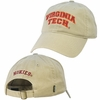 Virginia Tech Hat: Khaki
