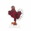 "Virginia Tech Hokie Bird 3"" Fridge Magnet"
