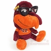 Virginia Tech Hokie Bird Plush with Glasses