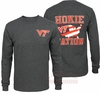 Virginia Tech Hokie Nation Long Sleeved Granite Tee