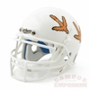 Virginia Tech Hokie Tracks Mini Collectible Football Helmet