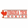 Virginia Tech Hokies Decal