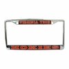 Virginia Tech Hokies Domed License Plate Frame