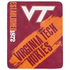 Virginia Tech Hokies Fleece Throw