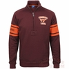 Virginia Tech Hokies Heritage 1/4 Zip Sweater by Champion