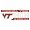 Virginia Tech Hokies Mom Decal